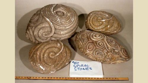 urRu artifact - Mystic Valley spiral stones