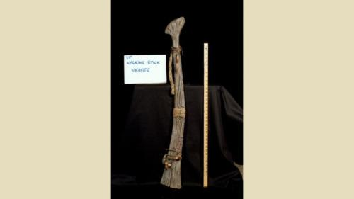 urRu artifact - the walking stick of urUtt the Weaver