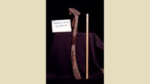 urRu artifact - the walking stick of urTih the Alchemist