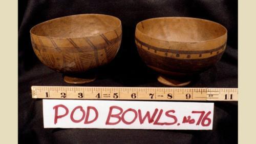 Podling artifacts - bowls