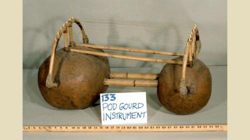 Podling artifact - gourd instrument